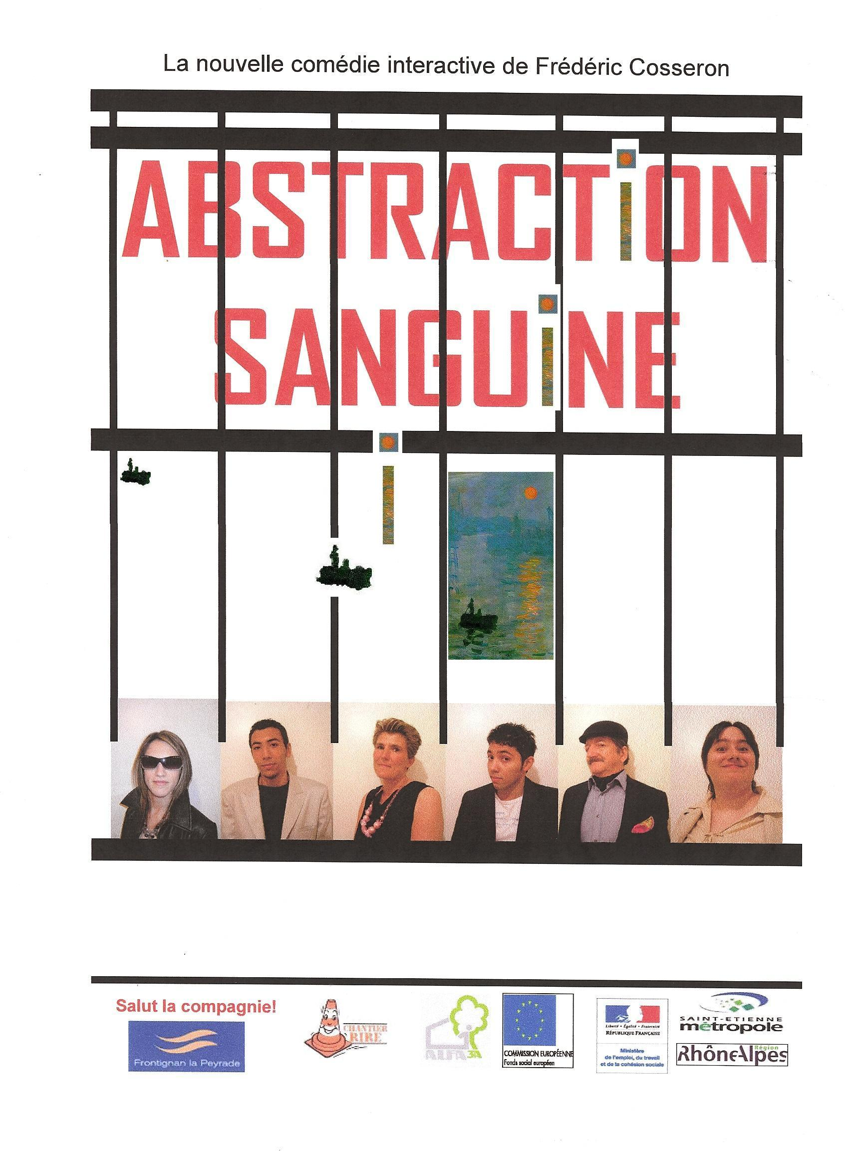 abstraction affiche